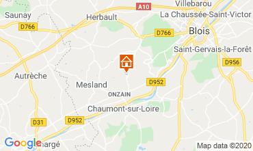 Karte Blois Mobil-Home 101805