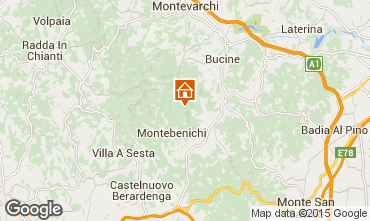 Karte Siena Villa 75874