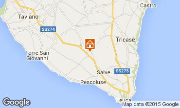 Karte Pescoluse Appartement 85022