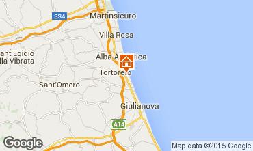 Karte Tortoreto Appartement 42623
