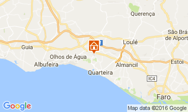 Karte Vilamoura Villa 73005