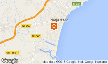 Karte Playa d'Aro Appartement 77393