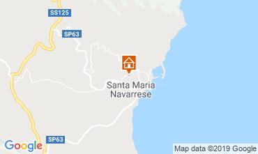 Karte Santa Maria Navarrese Villa 118243