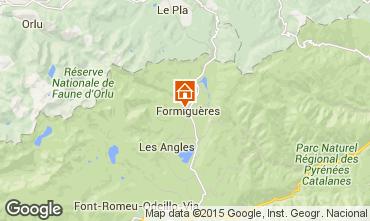 Karte Formiguères Haus 4013