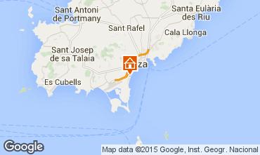 Karte Ibiza Appartement 96844