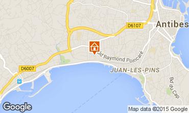 Karte Juan les Pins Appartement 82884