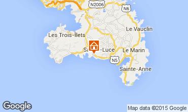 Karte Sainte Luce Villa 69068
