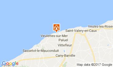 Karte Saint Valéry en Caux Haus 80886