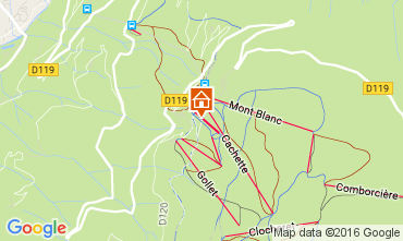 Karte Les Arcs Chalet 89274