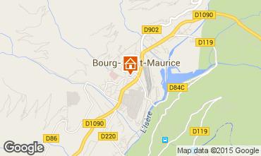 Karte Bourg Saint Maurice Appartement 75709