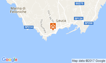 Karte Santa Maria di Leuca Appartement 78687