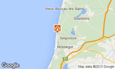 Karte Hossegor Appartement 96784