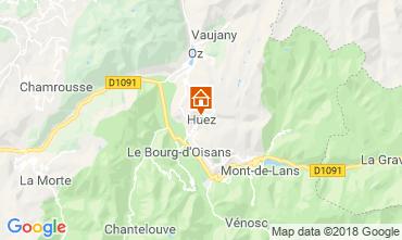 Karte Alpe d'Huez Haus 117000