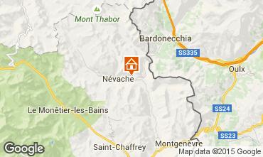 Karte Névache Chalet 64079