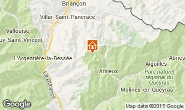 Karte Arvieux en Queyras Chalet 79860
