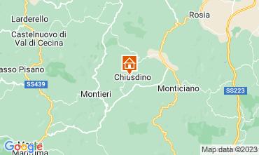 Karte San Gimignano Appartement 73261