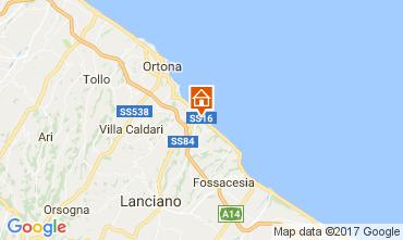 Karte San Vito Chietino Appartement 69058