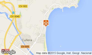 Karte Cullera Appartement 83588