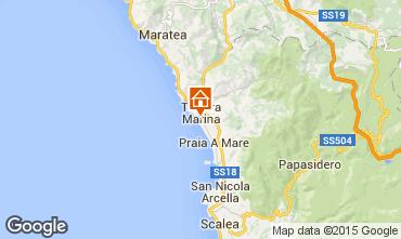 Karte Marina di Tortora Studio 69502