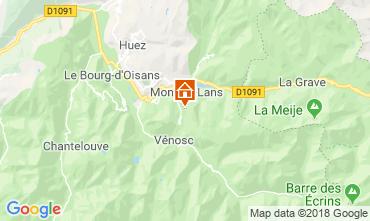 Karte Les 2 Alpes Appartement 117522
