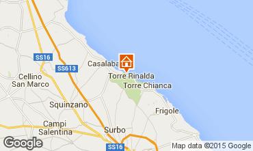 Karte Lecce Villa 78308
