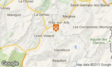 Karte Notre Dame de Bellecombe Chalet 90657