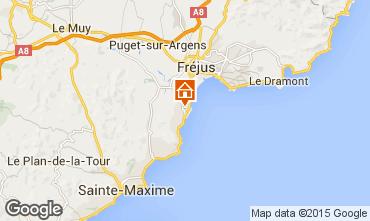 Karte Saint Aygulf Mobil-Home 52348