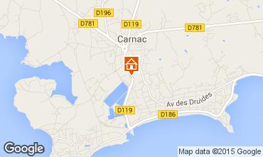 Karte Carnac Villa 59815