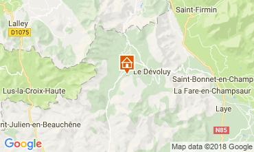 Karte Gap Chalet 113519