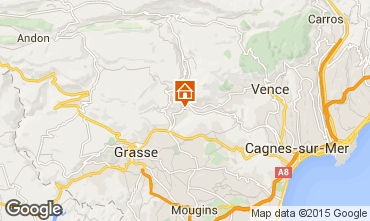 Karte Cannes Villa 81732