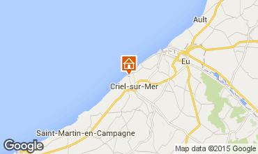 Karte Le Tréport Haus 98472