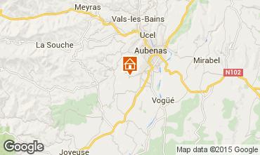 Karte Aubenas Haus 71557