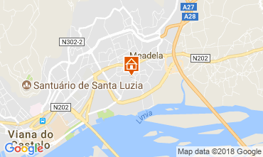 Karte Viana Do castello Appartement 21585