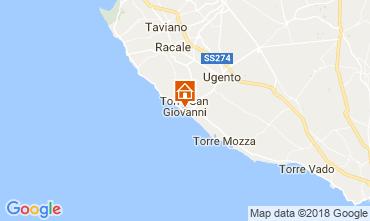 Karte Ugento - Torre San Giovanni Haus 77313