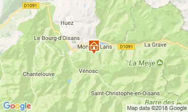 Karte Les 2 Alpes Appartement 101201