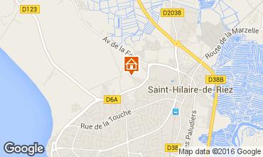 Karte Saint Hilaire de Riez Haus 68573