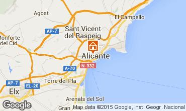 Karte Alicante Appartement 64577