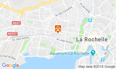 Karte La Rochelle Appartement 117296