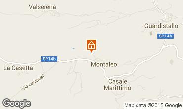 Karte Casale Marittimo Appartement 58827