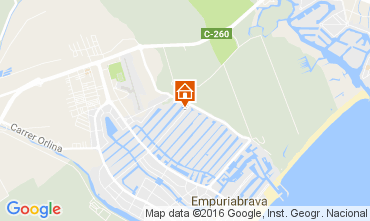 Karte Empuriabrava Haus 106921