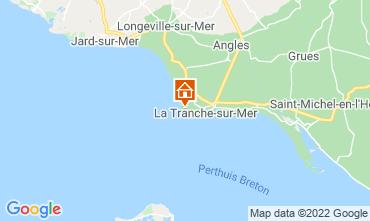 Karte La Tranche-sur-mer Villa 7127