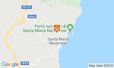 Karte Santa Maria Navarrese Appartement 83808