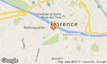 Karte Florenz Appartement 90994