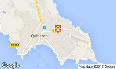 Karte Quiberon Appartement 31206