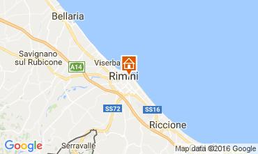 Karte Rimini Appartement 32172